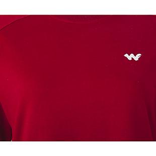 Wildcraft Women Crew Sweatshirt - Maroon