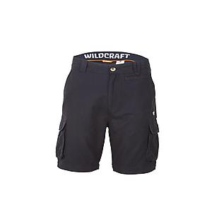 Wildcraft Men Cotton Convertible Pants - Black
