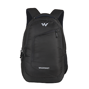 Wildcraft Maestro Laptop Backpaack With Back Ventilated System - Black