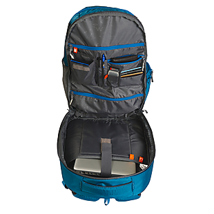 Wildcraft Continuum Laptop Backpack With Internal Gadget Organizer - Blue 2