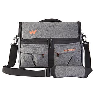 Wildcraft Crossbee L Messenger For Women - Melange Black