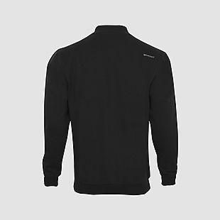 Wildcraft Men Zippered Sweatshirt For Winter - Black
