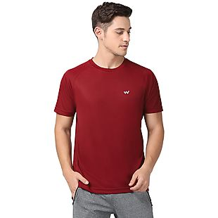 Wildcraft Men Hypacool Poly Crew Tee - Red