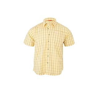 Wildcraft Men Half Sleeve Shirt - Yellow