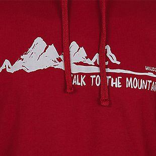 Wildcraft Wildcraft Men Hooded Sweatshirt For Winter - Red
