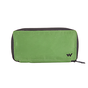 Wildcraft Women Bifold Zip Wallet - Green