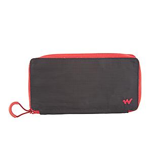 Wildcraft Women Bifold Zip Wallet - Black