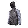 Wildcraft Hypadry Men Self-Packable Rain Jacket - Black And Grey