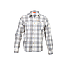 Wildcraft Men Full Sleeve Check Shirt 01 - Off-White Check